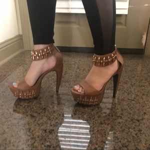 Privileged Mafiosa Studded Bullet Cuff Platform